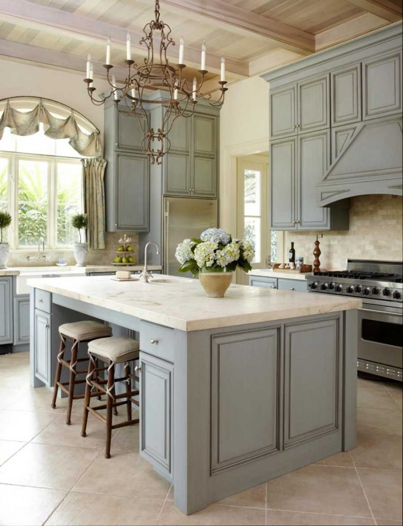 Color for a Country Kitchen