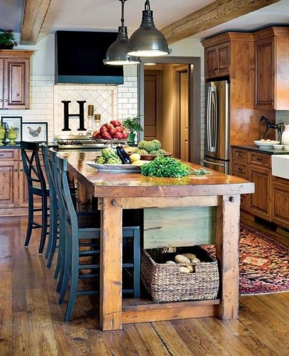 Country-Kitchen-Look-Modern