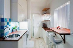 small kitchen wall mounted tables