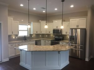 Try Different Shaped Kitchen Islands