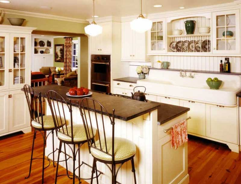 features of french kitchen design