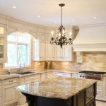 wooden french country kitchen design