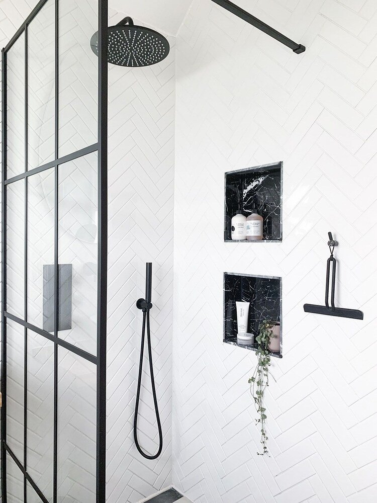 extra space in small bathroom